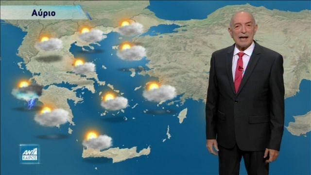 Σκαρφαλώνει στους 20 βαθμούς ο υδράργυρος – Ο καιρός της εβδομάδας (vid) | panathinaikos24.gr