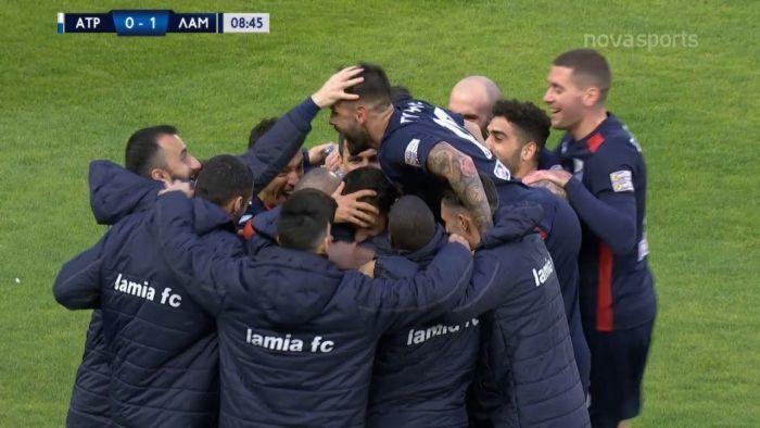 Ατρόμητος-Λαμία: 0-1 μέσω… VAR ο Καραμάνος (vid) | panathinaikos24.gr