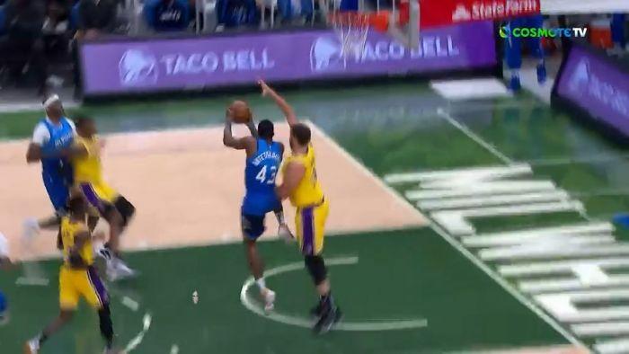 NBA: Ο Θανάσης τάπωσε τον Ντέιβις και σκόραρε με στυλ! (vid) | panathinaikos24.gr