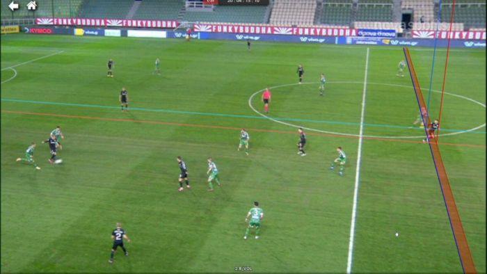 Παναθηναϊκός – ΟΦΗ: Το ακυρωθέν γκολ του Σαρδινέρο (vid) | panathinaikos24.gr