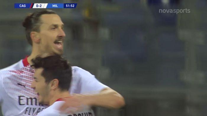 Κάλιαρι – Μίλαν: 0-2 ο Ζλάταν με τις… ευλογίες του VAR!   panathinaikos24.gr