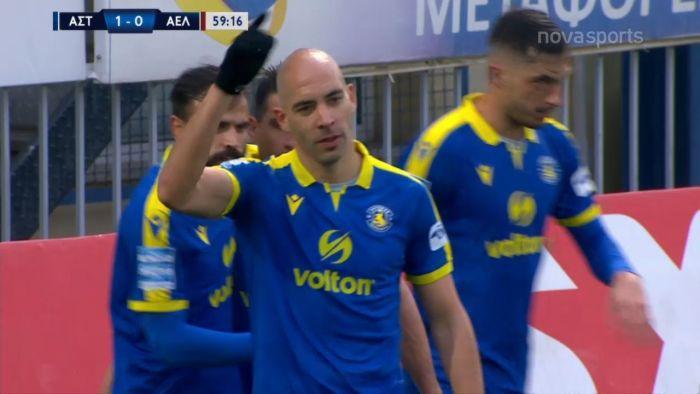 Αστέρας-ΑΕΛ: Ο Μπαράλες έδωσε ξανά την λύση για το 1-0 (vid)   panathinaikos24.gr