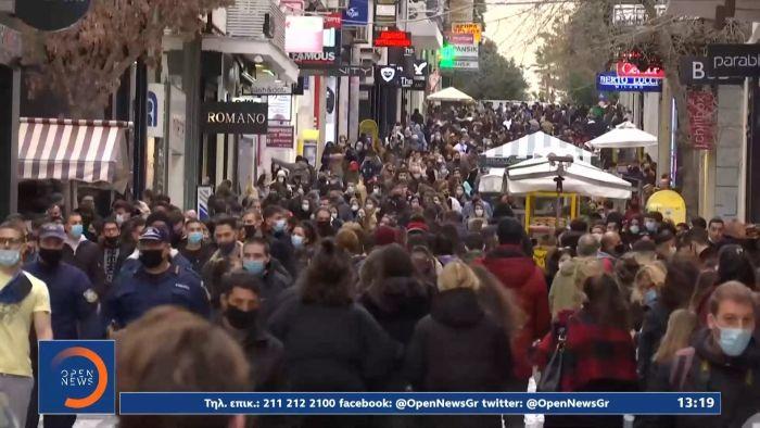 «Τρομάζει» ο συνωστισμός και η παραβίαση των μέτρων  – Νέο SMS για χρονόμετρο στα ψώνια (vid) | panathinaikos24.gr