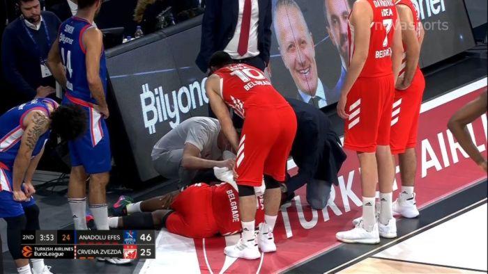 Εφές -Ερ. Αστέρας: Ο τραυματισμός του Λόιντ (vid) | panathinaikos24.gr