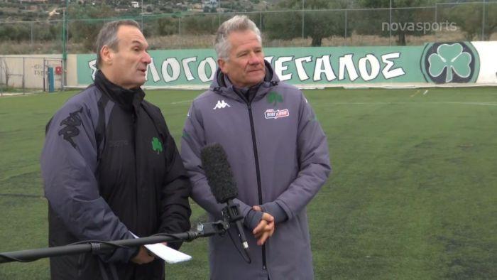 Οι δηλώσεις του Μπόλονι για Ζαγαρίτη και συνέχεια (vid) | panathinaikos24.gr