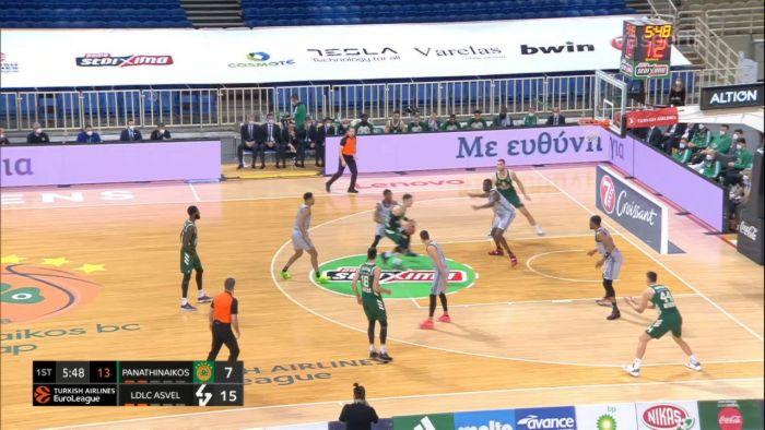 Παναθηναϊκός-Βιλερμπάν: Νέντοβιτς υψώνει, Παπαγιάννης καρφώνει (video) | panathinaikos24.gr