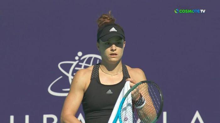 Κενίν – Σάκκαρη: Απίθανη η Μαρία κέρδισε 10 games στη σειρά! (vid) | panathinaikos24.gr
