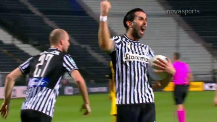 Ο Κρέσπο πήρε το ριμπάουντ και ισοφάρισε για τον ΠΑΟΚ! (vid) | panathinaikos24.gr