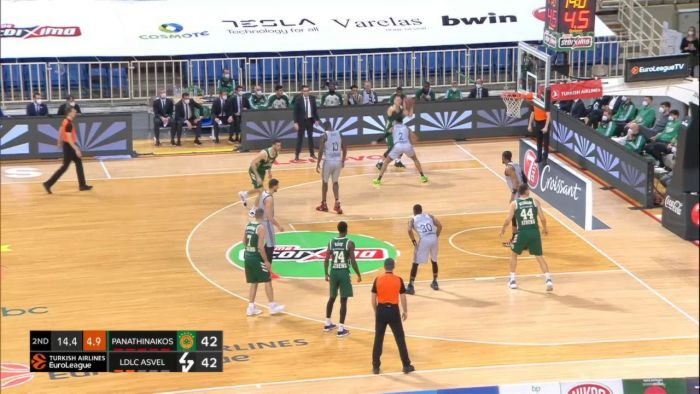 Παναθηναϊκός-Βιλερμπάν: Το κάρφωμα για το 36-30 και το θεαματικό «κλείσιμο» του Νέντοβιτς! | panathinaikos24.gr