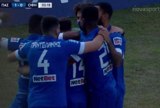 Παμλίδης και 1-0 ο ΠΑΣ Γιάννινα (vid)   panathinaikos24.gr