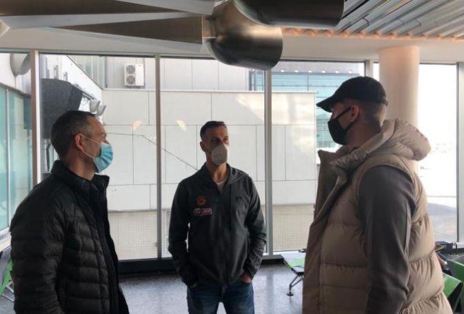 Παναθηναϊκός: Συναντήθηκε με τους συμπαίκτες του και τον Κάτας ο Χεζόνια (pic) | panathinaikos24.gr