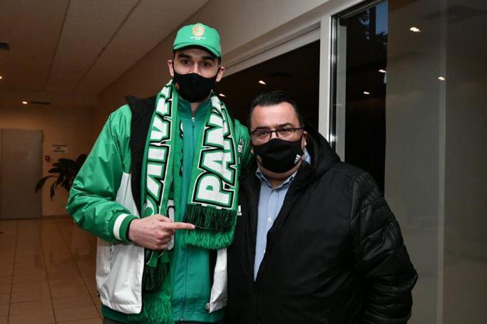 Τριαντόπουλος: «Ποιος να το φανταζόταν πως θα ξαναβρεθούμε όλοι μαζί στο ΟΑΚΑ» (Pic) | panathinaikos24.gr