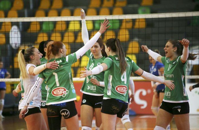 Παναθηναϊκός: Εύκολη νίκη για τις πράσινες   panathinaikos24.gr