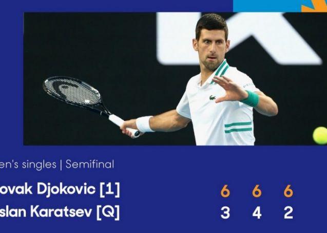 Αυστραλιανό Open: Αψεγάδιαστος Τζόκοβιτς στον τελικό!   panathinaikos24.gr