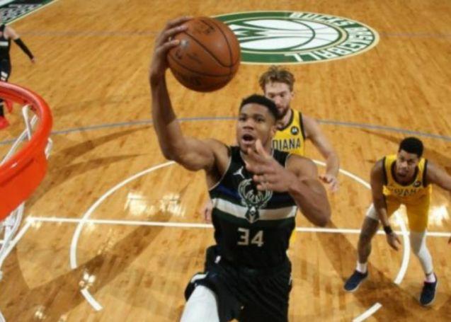 NBA: Τα καλύτερα του Giannis κόντρα στους Πέισερς (vid)   panathinaikos24.gr