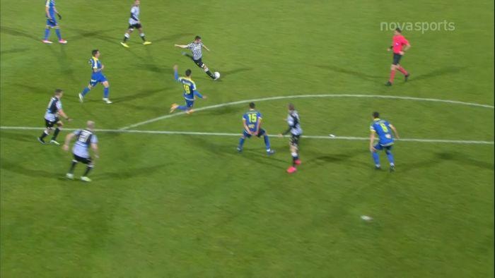Αστέρας Τρ.-ΠΑΟΚ: 2-1 με ωραίο σουτ του Ζίβκοβιτς | panathinaikos24.gr