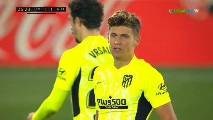 Λεβάντε – Ατλέτικο Μαδρίτης  1-1 (vid) | panathinaikos24.gr