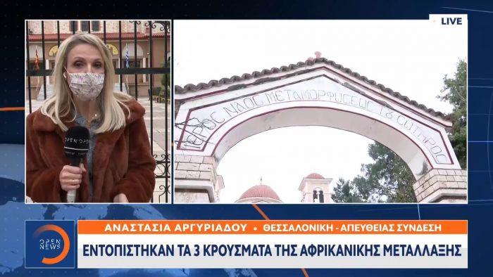 Θεσσαλονίκη: Εντοπίστηκαν 3 κρούσματα αφρικανικής μετάλλαξης (vid) | panathinaikos24.gr