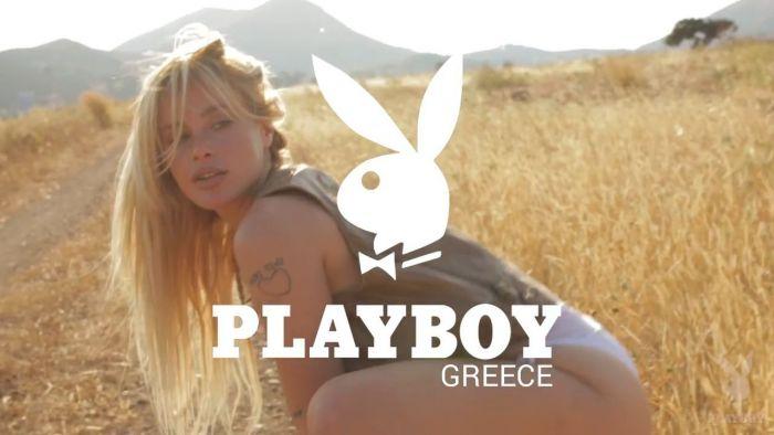 "Gian Mamaki: Το backstage video από τη φωτογράφισή για το ""The Hedonism Issue"" του Playboy (vid)   panathinaikos24.gr"