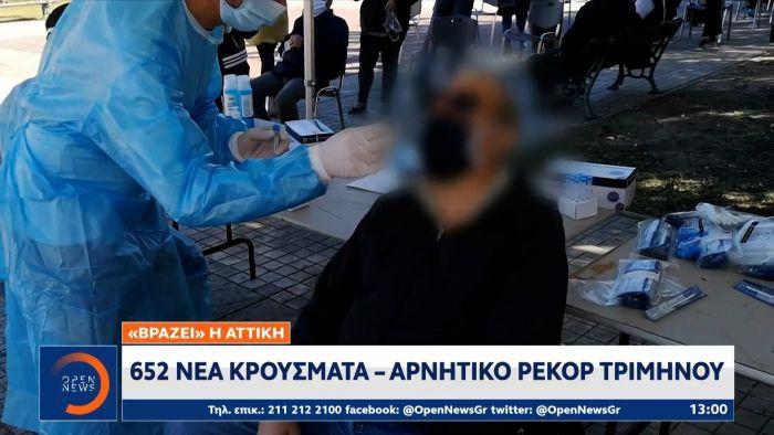 «Βράζει» η Αττική: 625 νέα κρούσματα – Αρνητικό ρεκόρ τριμήνου (vid) | panathinaikos24.gr