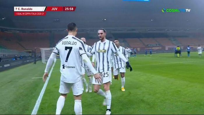Ιντερ – Γιουβέντους:  Δύο γκολ σε 9 λεπτά ο Κριστιάνο! (vids)   panathinaikos24.gr