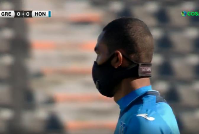 Παίκτης της Ονδούρας αγωνίζεται με μάσκα! (vid) | panathinaikos24.gr