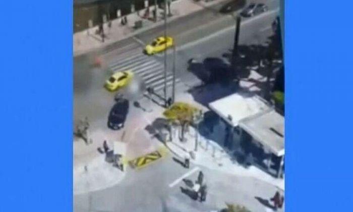 Βίντεο-ντοκουμέντο από το δυστύχημα έξω από τη Βουλή | panathinaikos24.gr