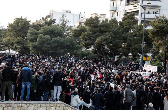 Νέα Σμύρνη: Μεγαλειώδης συγκέντρωση διαμαρτυρίας κατά της καταστολής (pics)   panathinaikos24.gr