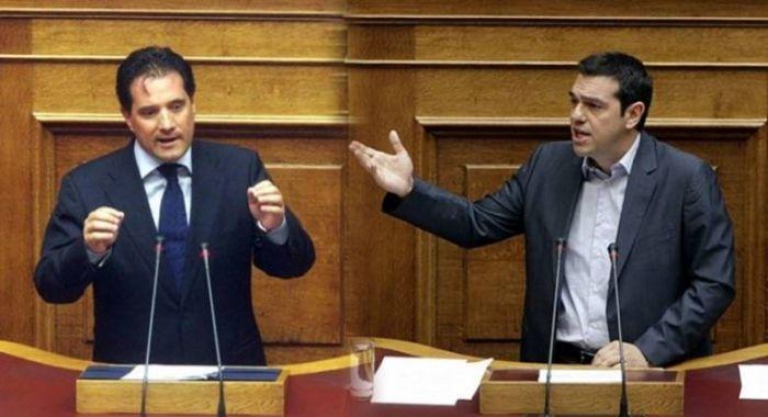 """Τρολάρισμα Τσίπρα σε Άδωνι μέσα στη Βουλή: """"Ηρθε ο νονός; Πάντα άξιος""""!   panathinaikos24.gr"""