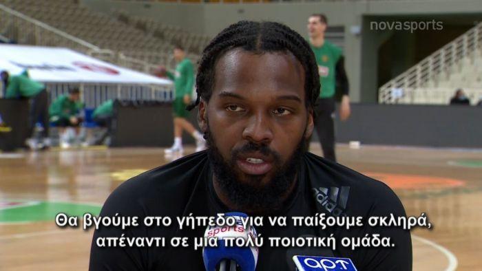 Σέλβιν  Μακ: Υπέροχος παίκτης ο Χεζόνια (vid) | panathinaikos24.gr