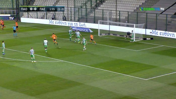 Παναθηναϊκός – ΠΑΣ Γιάννινα: 0-1 στο 3′ ο Παντελάκης (vid) | panathinaikos24.gr