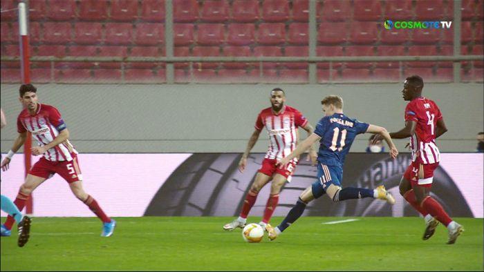 Ολυμπιακός – Άρσεναλ 0-1: Το γκολ των Λονδρέζων (vid) | panathinaikos24.gr