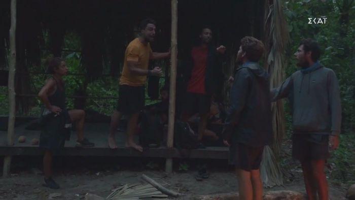 «Δεν θα λες το όνομά μου, τέλος»: Χαμός στο Survivor, αρπάχτηκαν ο Σάκης με Νίκο και James! (video)   panathinaikos24.gr