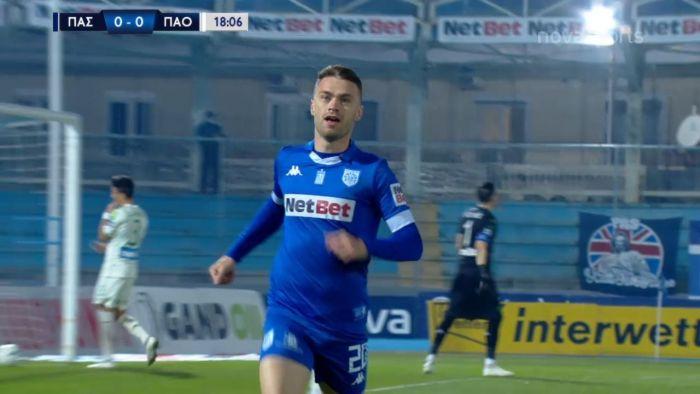 ΠΑΣ Γιάννινα-ΠΑΟ: 1-0 με πλασέ του Μιλιντσεάνου (vid)   panathinaikos24.gr