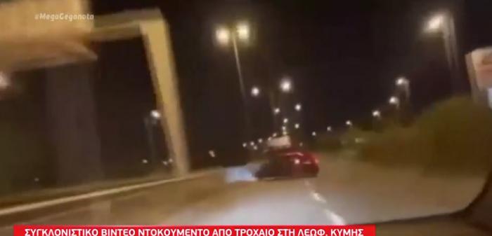 Συγκλονιστικό βίντεο – ντοκουμέντο: Σφοδρή σύγκρουση αυτοκινήτου σε προστατευτικές μπάρες   panathinaikos24.gr