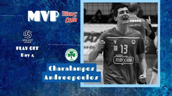 Παναθηναϊκός: Ο Ανδρεόπουλος MVP Βίκος Cola της 4ης αγωνιστικής   panathinaikos24.gr