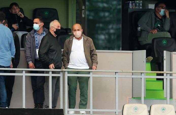 Στην Λεωφόρο για το ντέρμπι με τον ΠΑΟΚ ο Αλαφούζος | panathinaikos24.gr