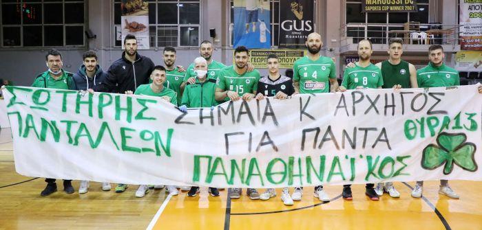 Παναθηναϊκός: Στιγμές μετά τον τελευταίο αγώνα του Σωτήρη Πανταλέοντα (Vid)   panathinaikos24.gr
