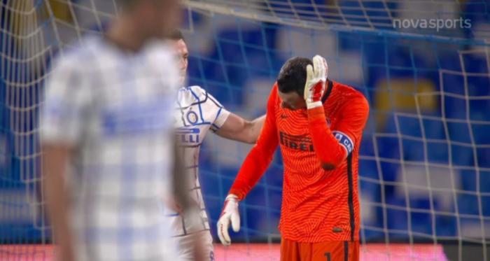 Νάπολι-Ίντερ: ΑΠΙΘΑΝΟ αυτογκόλ Ντε Φράι & Χαντάνοβιτς για το 0-1 (vid)   panathinaikos24.gr