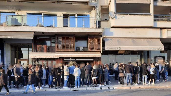 Βίντεο: Απίστευτος συνωστισμός – Επέμβαση της αστυνομίας (vid) | panathinaikos24.gr