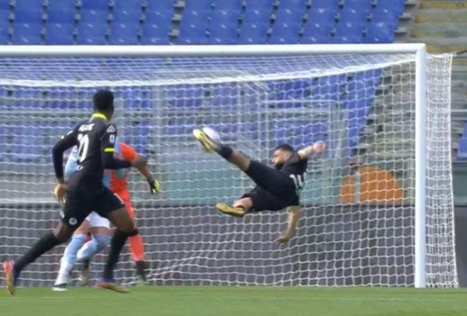 Ποιος Ρονάλντο; Ποιος Ζλάταν; Ο Ντανιέλε Βέρντε έβαλε το γκολ της χρονιάς στην Ιταλία με ψαλιδάκι! (vid) | panathinaikos24.gr