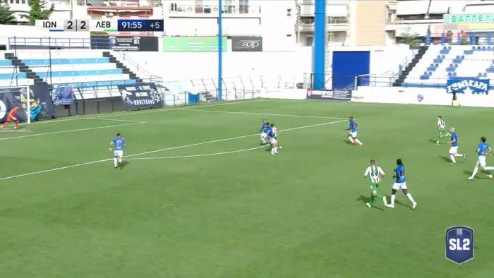 Ιωνικός – Λεβαδειακός: Με γκολάρα ο Μυτίδης το 2-3 στο 90+3′! (vid) | panathinaikos24.gr