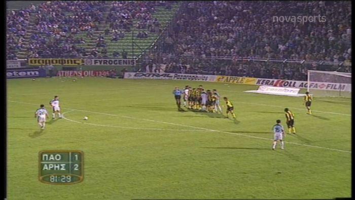 Παναθηναϊκός – Άρης: Η ματσάρα της σεζόν 2000-01 (Vid) | panathinaikos24.gr