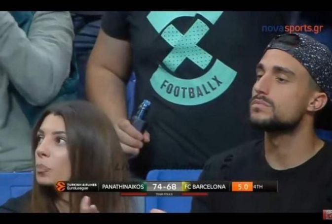 Το Survivor είναι… πράσινο: Μαριαλένα-Σάκης πανηγύριζαν στο ΟΑΚΑ! (vid) | panathinaikos24.gr