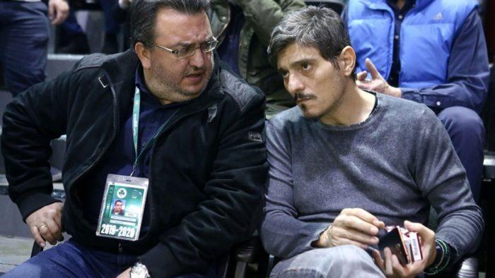 Παναθηναϊκός: Αποθέωσε Τριαντόπουλο ο Γιαννακόπουλος (Pic) | panathinaikos24.gr