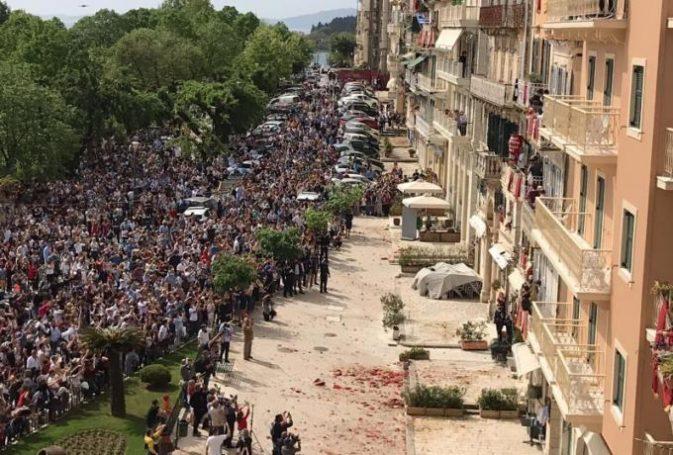 Κύριοι, έχουμε πανδημία: Δηλαδή τι περιμένατε να συμβεί μετά από αυτή την εικόνα; | panathinaikos24.gr