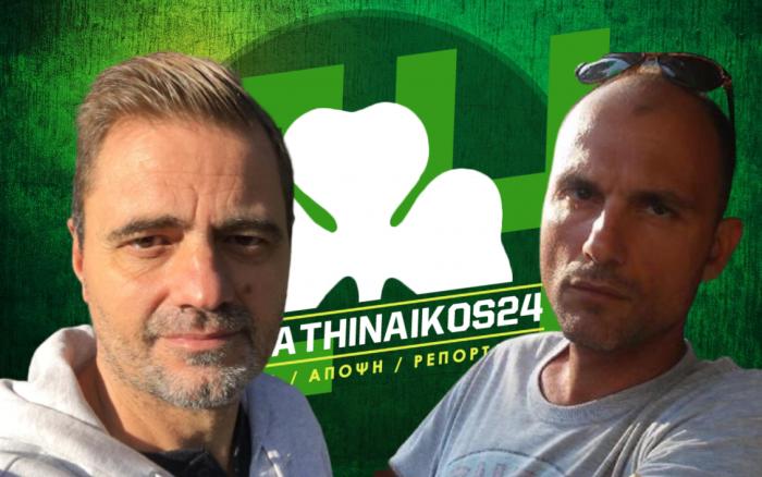 Panathinaikos24 TV LIVE με Τάσο Νικολογιάννη και Κώστα Μανωλιουδάκη (vid)   panathinaikos24.gr