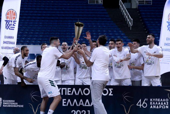 Παναθηναϊκός: Η στιγμή της απονομής το κυπέλλου και η κίνηση του Παπαπέτρου με Βουγιούκα (Vid)   panathinaikos24.gr