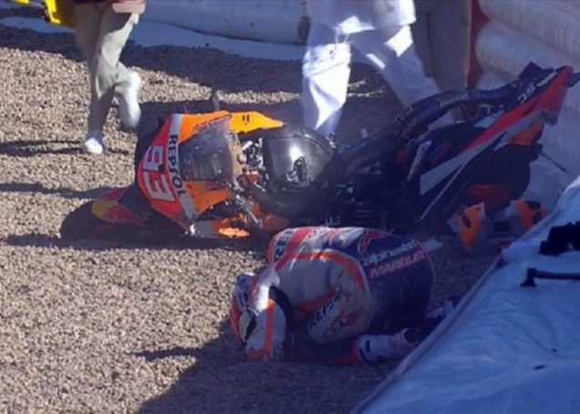 Moto GP – Μαρκ Μάρκεθ: Σοκαριστικό ατύχημα για τον Ισπανό [vid] | panathinaikos24.gr