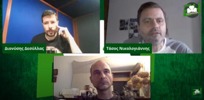 Panathinaikos24 TV LIVE με Νικολογιάννη, Μανωλιουδάκη και Δεσύλλα (vid)   panathinaikos24.gr